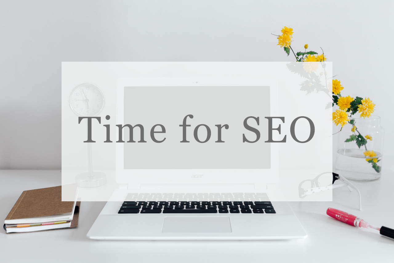 Time for SEO content and copy for websites